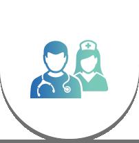 医師以外の、看護師や医療関係者でも、スムーズに検査をナビゲーション