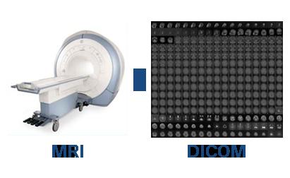 MRIからDICOMデータを書き出す