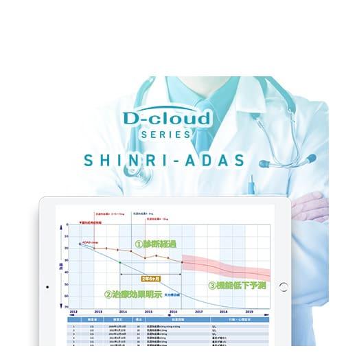 ADAS-Jcog. 実施ナビゲーション/効果判定/薬効評価支援システム
